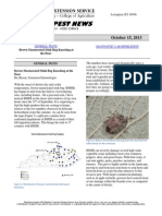 Kentucky Pest News, October 15, 2013