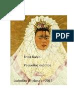 Pequeños escritos FridaKahlo
