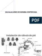 Instalaciones de Bomba Centrifuga
