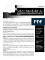ASEAN Newsletter Feb 2013