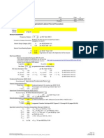 IBC 2006 Seismic Calculation