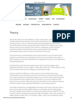 Theory - Sleep as Android