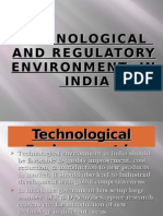 Technological and Regulatory Environment in India