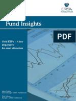 CRISIL Research Gold Etf Pr 160211