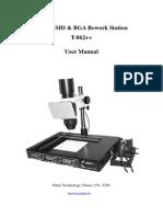 Bga Irda Smd T-862++ User Manual