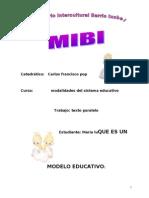 Texto Paralelo Modelo Educativo