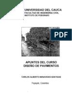 APUNTES DEL CURSO DE DISEÑO DE PAVIMENTOS