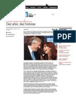 Diez años, diez historias _ Revista Veintitrés