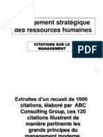 Citations Sur Le Management