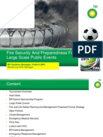 Fire Security and Preparedness for Large Scale Public Events