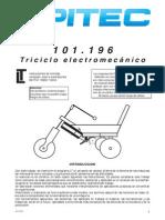 Instrucciones para construir un triciclo electromecánico
