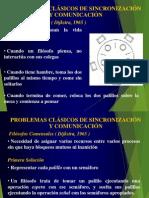 Bloqueos Mutuos de Sistemas Operativos(problemas de sincronización y comunicación entre procesos)