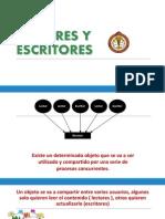 LECTORES Y  ESCRITORES EN SISTEMAS OPERATIVOS