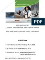 Ireland Now! Current Performance Visitor Trends Brian Maher Failte Ireland (2)