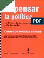 La Politica, En La Era de Los Movimientos y La Redes