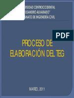 Present Ac i on Proceso Teg