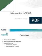 WSUD Introductory Presentation