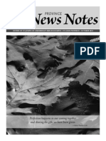 Province News Notes October 2013
