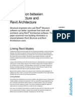 Coordination Between Revit Structure and Revit Architecture