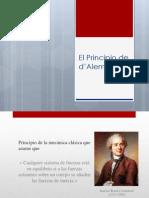 El Principio de D'Alembert