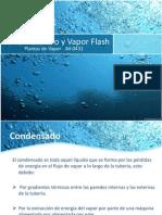 Condensado y Vapor Flash