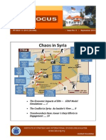 ISIS Focus No. 9 Sep 2013