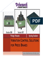 Vibration Control Solutions for Press Brakes
