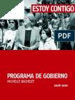Programa Bachelet 2006-2010