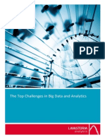 Lavastorm - The Top Challenges of Big Data Analytics