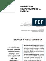 Analisis de La Competitividad de La Empresa