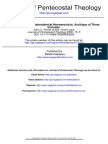 Journal of Pentecostal Theology