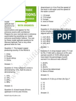 100 Aptitude Test Questions