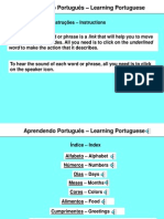 Learning Portuguese