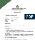 Plano de Ensino UFSC - DIR 5212 T.0305 e 0322