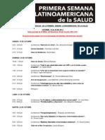 Primera Semana Latinoamericana Salud Toronto