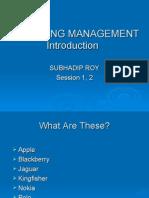 Session 1,2 Intro