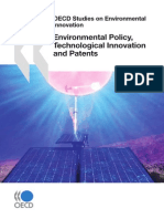 OECD Studies on Environmental Innovation Environmental Policy Technological Innovation and Patents OECD Studies on Environmental Innovation