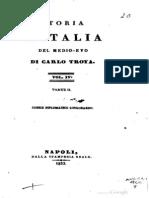 Carlo Troya - Codice Diplomatico Longobardo 2 (628 - 685) - Mice Gamulin