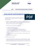 Guía para la selección y uso de protección respiratoria ligera de Drager