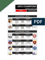 Champions League 2013-14 - Trabajos en Excel Blogspot