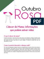 Cancer de Mama Informacoes Que Podem Salvar Vidas