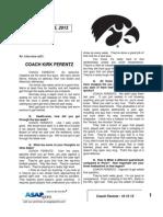 Coach Ferentz - 10 15 13
