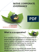 Co-operative Corporate Governance