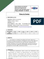 Plano de Ensino Gerencia de Projetos - UFS - 2013-2