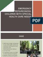Emergency Preparedness CSHCN 09.13.2013