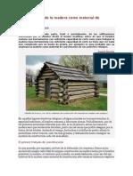 Breve historia de la madera como material de construcción