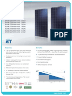 Trina Solar Allmax Multicrustalline 60cell 255W 270W