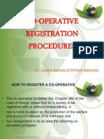 Co Op Registration Procedures