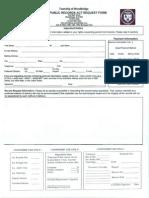 Woodbridge OPRA Request Form