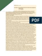 El problema del desarrollo y la desintegración de las funciones psíquicas superiores